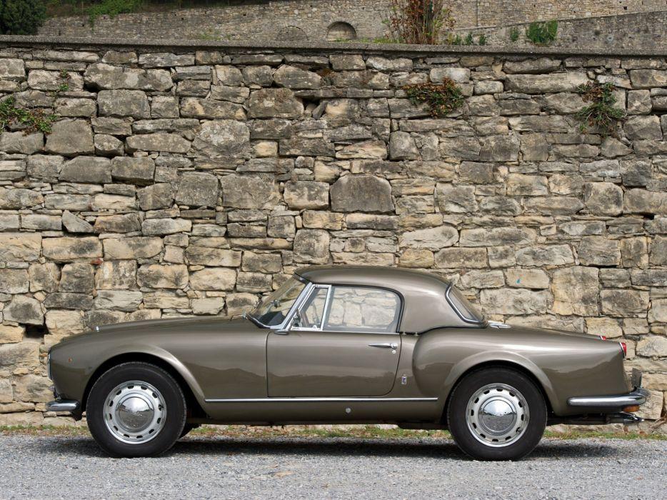 1956-58 Lancia Aurelia G-T Convertible (B24) retro  r wallpaper