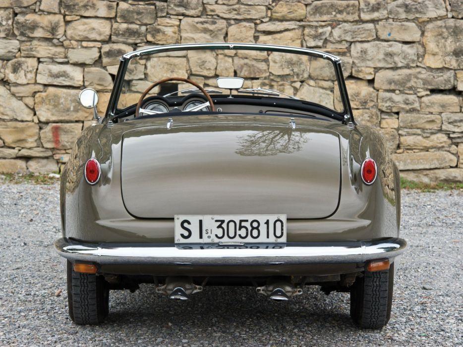 1956-58 Lancia Aurelia G-T Convertible (B24) retro  g wallpaper