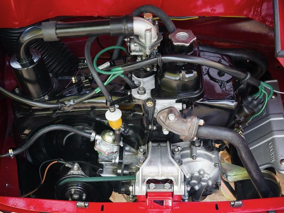 1957-60 Autobianchi Bianchina Trasformabile retro classic engine  j wallpaper