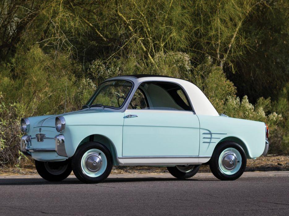 1957-60 Autobianchi Bianchina Trasformabile retro classic  g wallpaper