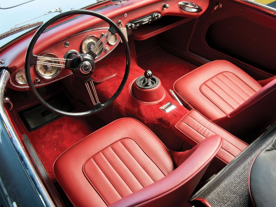 1961-63 Austin Healey 3000 (MkII) classic interior    h wallpaper