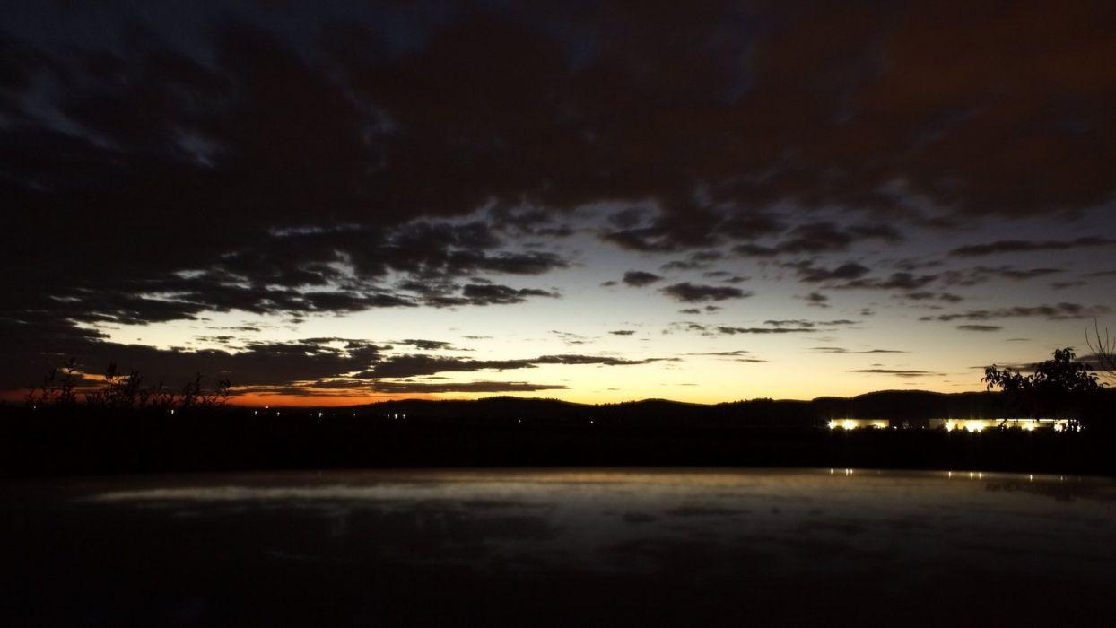 just after sunset wallpaper