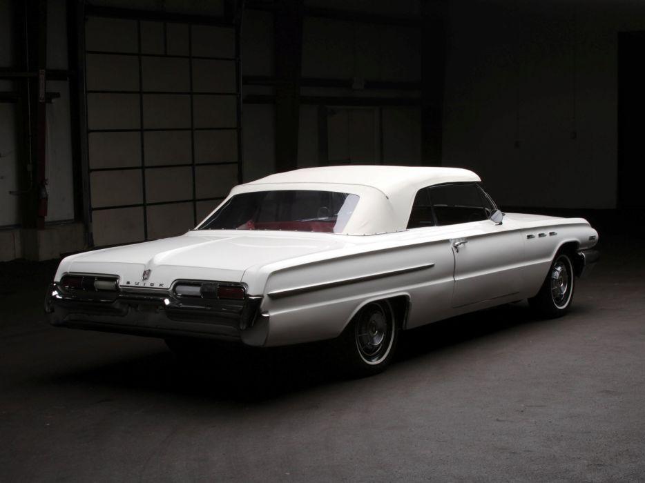 1962 Buick Invicta Convertible (4667) classic muscle  g wallpaper