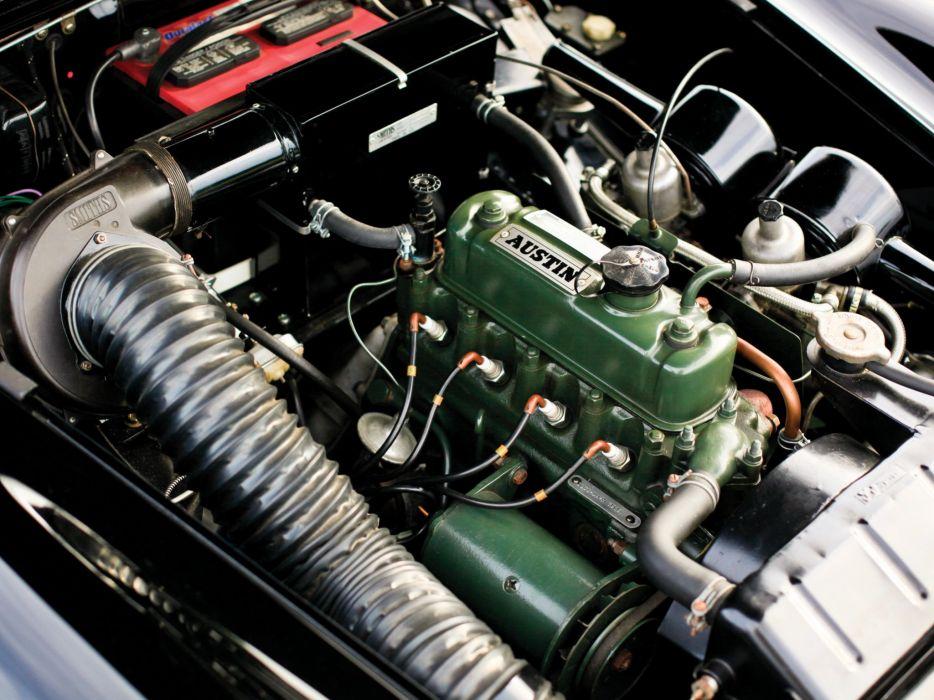 1963 Austin Healey Sprite (MkII) convertible classic engine     g wallpaper