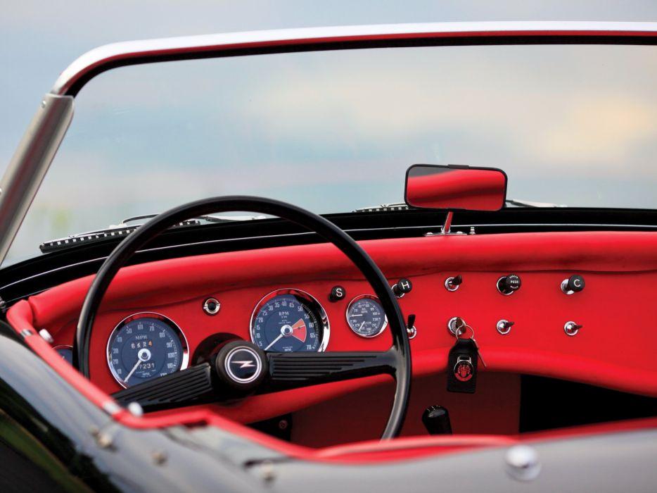 1963 Austin Healey Sprite (MkII) convertible classic interior        g wallpaper