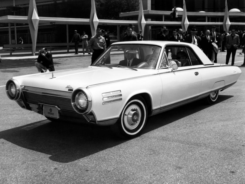 1963 Chrysler Turbine Car jet classic      f wallpaper