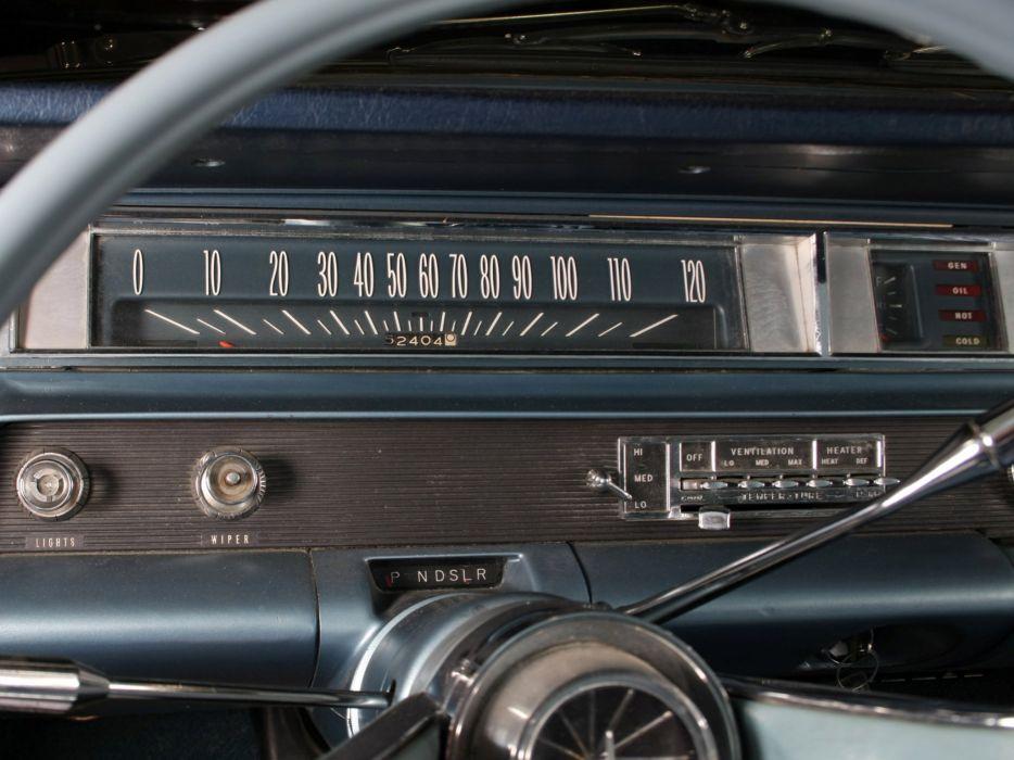 1963 Oldsmobile Super 8-8 2-door Holiday Hardtop (3547) classic interior  d wallpaper
