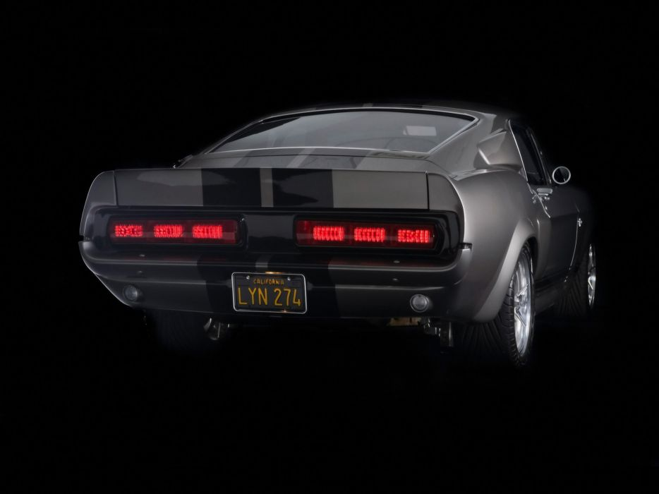 1967 Ford Mustang Shelby Cobra GT500 Eleanor hot rod rods muscle classic  r wallpaper