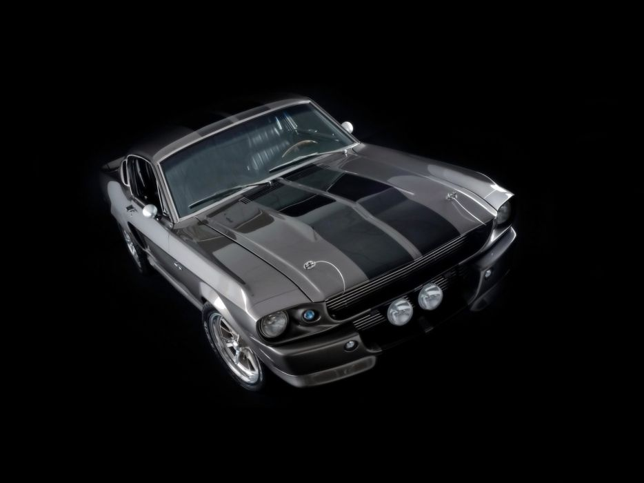 1967 Ford Mustang Shelby Cobra GT500 Eleanor hot rod rods muscle classic  ff wallpaper