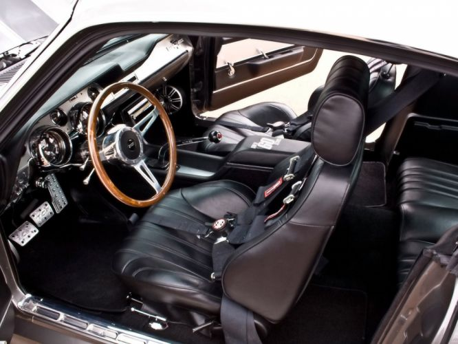 1967 Ford Mustang Shelby Cobra GT500 Eleanor hot rod rods muscle classic interior tg wallpaper