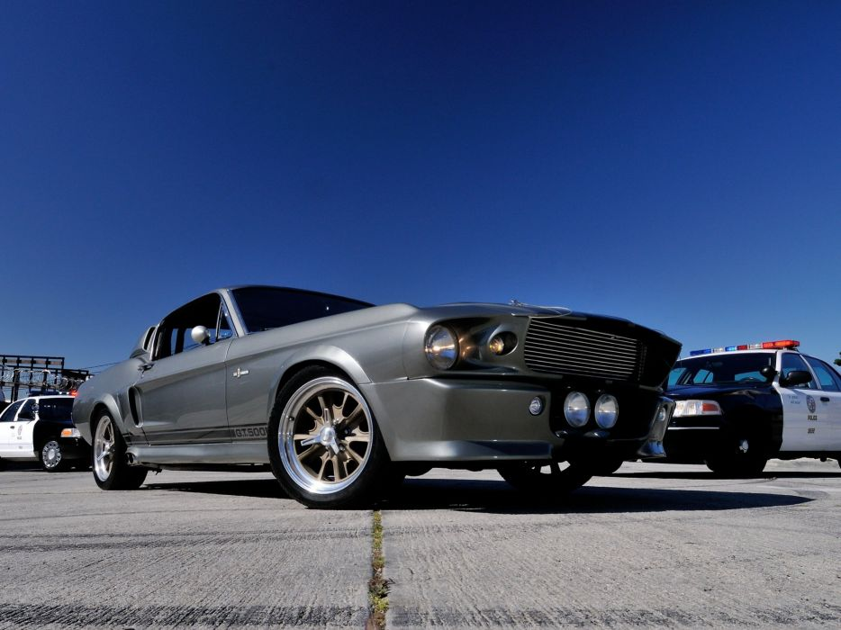 1967 Ford Mustang Shelby Cobra GT500 Eleanor hot rod rods muscle classic   f wallpaper