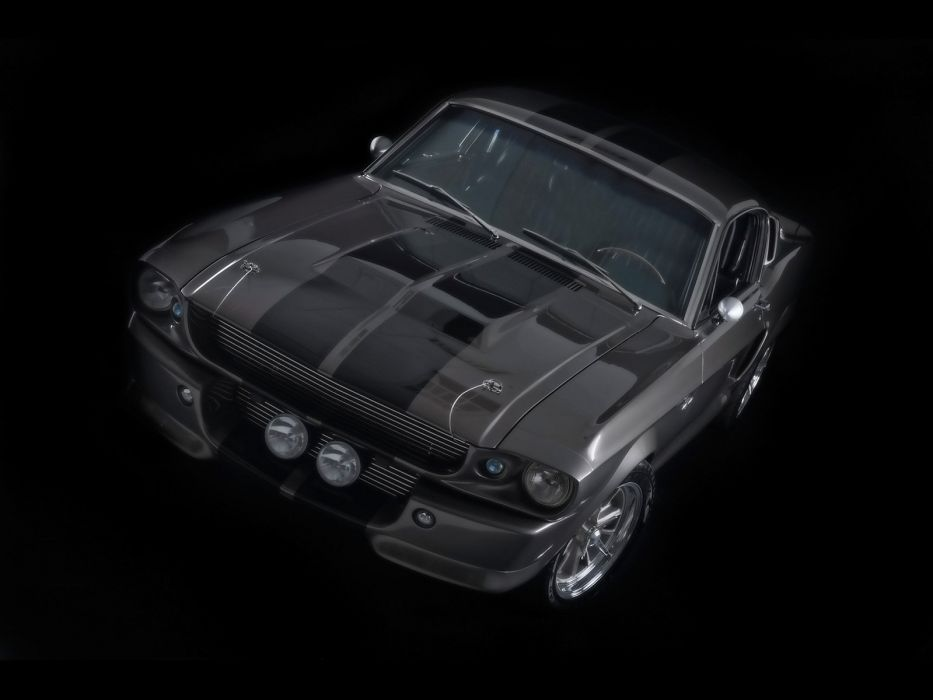 1967 Ford Mustang Shelby Cobra GT500 Eleanor hot rod rods muscle classic   e wallpaper