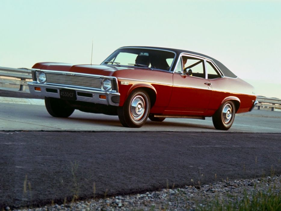 1968 Chevrolet Chevy-II Nova 327 Coupe (11427) muscle classic   g wallpaper