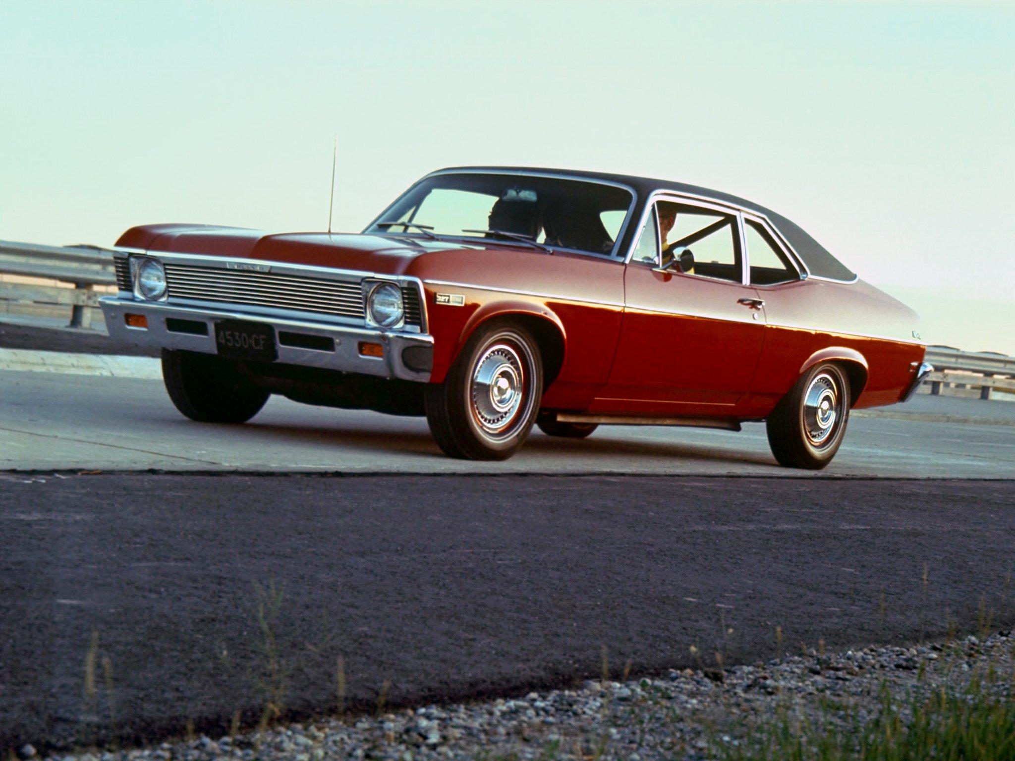 1968 Chevrolet Chevy Ii Nova 327 Coupe 11427 Muscle