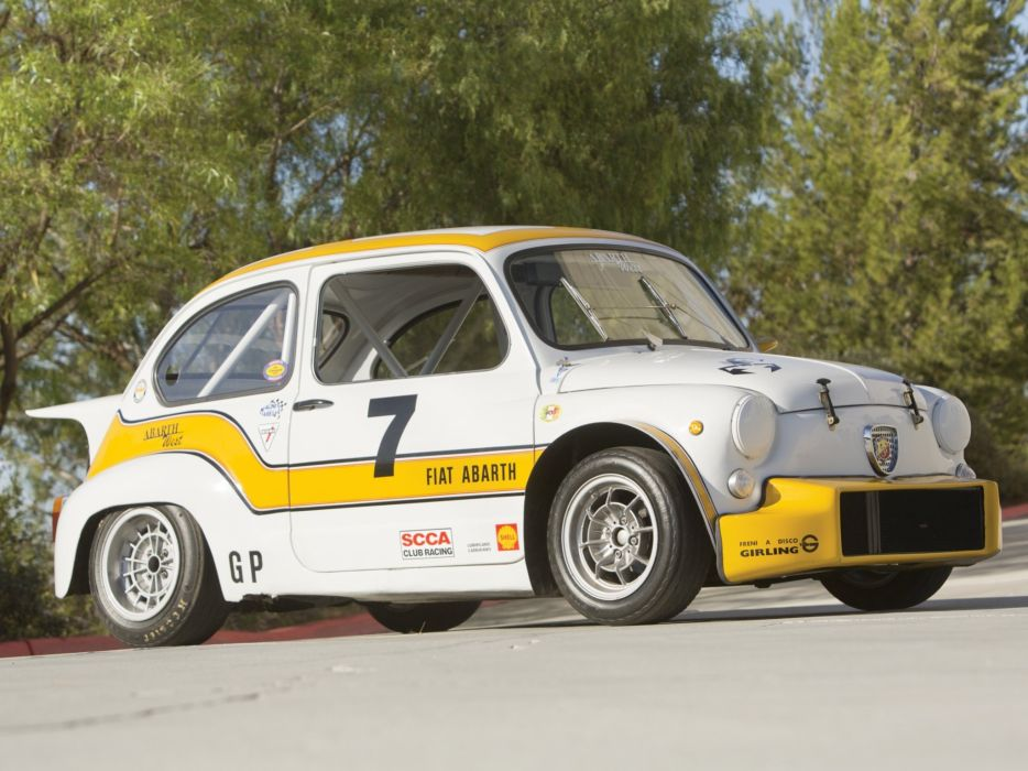 1970 Abarth Fiat 1000 TCR Group-2 race racing   h wallpaper