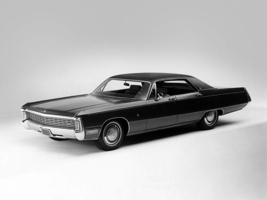 1970 Chrysler Imperial LeBaron 4-door Hardtop (YM43) luxury classic     g wallpaper