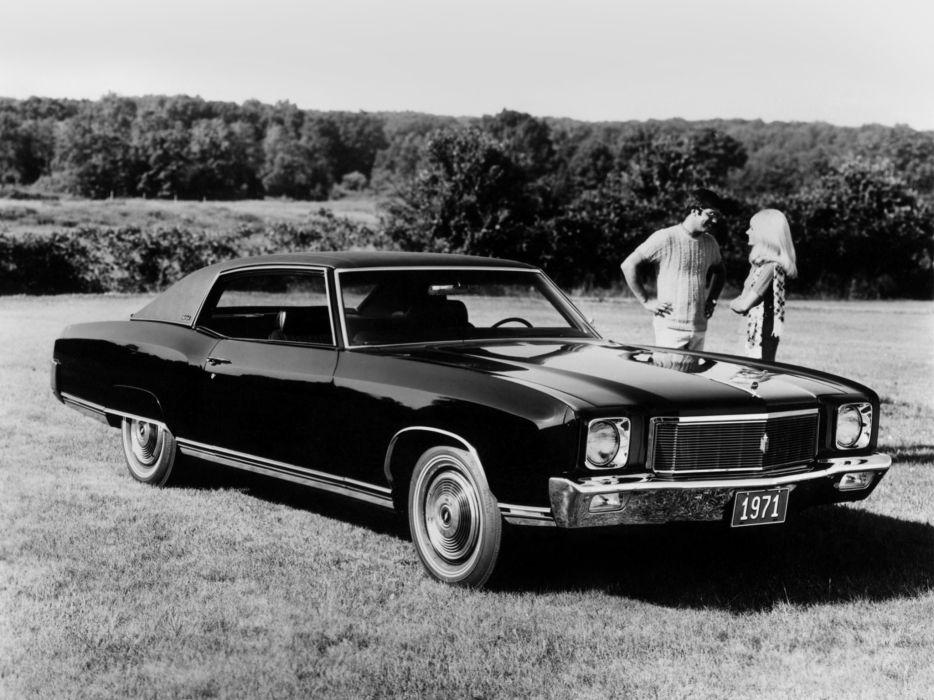 1971 Chevrolet Monte Carlo (13857) classic       f wallpaper