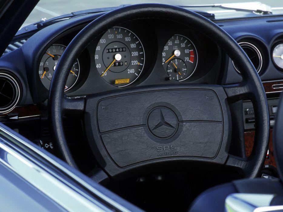 1971-89 Mercedes Benz SL-Klasse (R107) interior h wallpaper ...