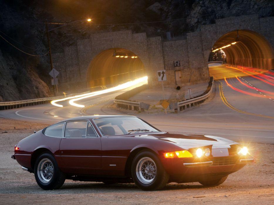 1973 Ferrari 365 GTB4 Daytona US-spec supercar classic  h wallpaper