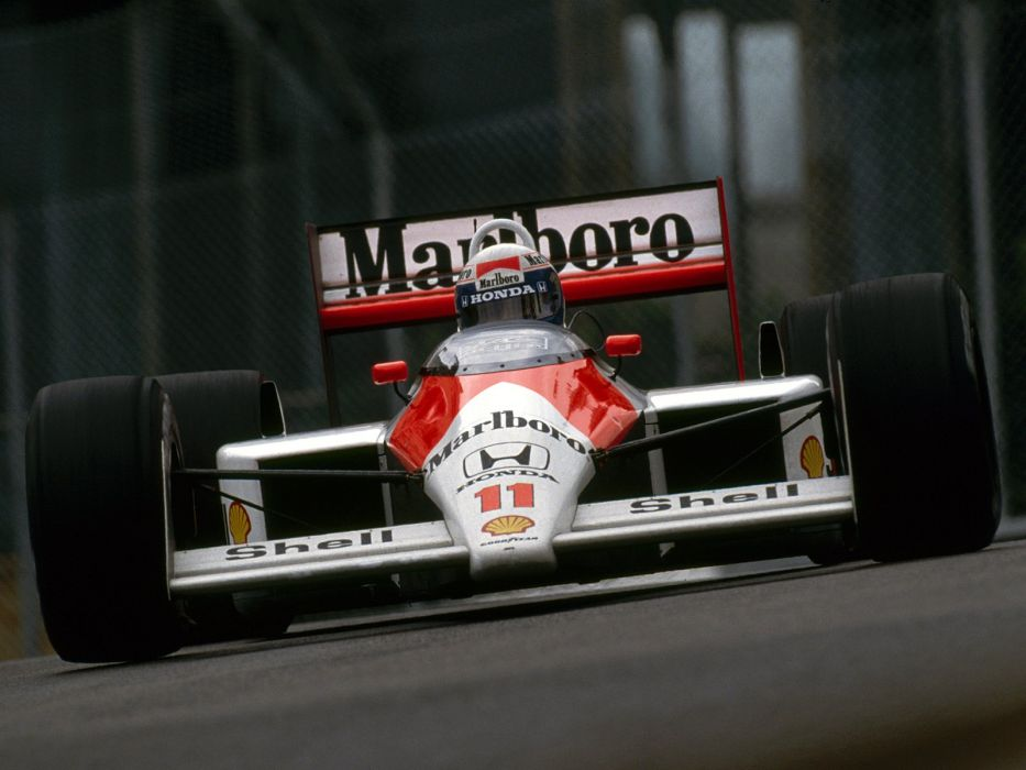 1988 McLaren Honda MP4-4 formula f-1 race racing    h wallpaper