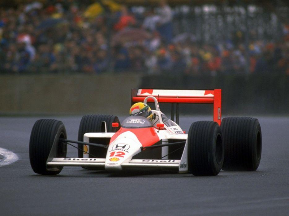 1988 McLaren Honda MP4-4 formula f-1 race racing    j wallpaper