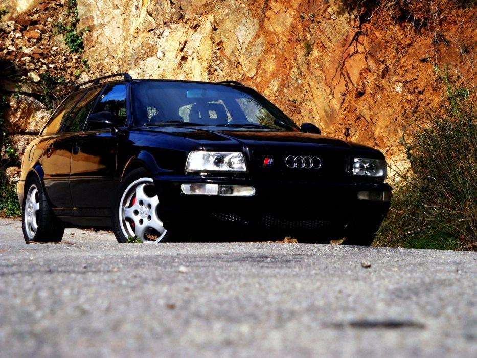 1994 Audi RS2 stationwagon   f wallpaper