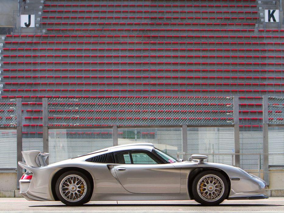 1997 Porsche 911 GT1 Strassenversion (996) race racing supercar f wallpaper