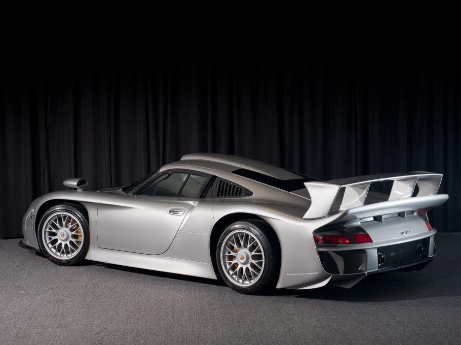 1997 Porsche 911 GT1 Strassenversion (996) race racing supercar   g wallpaper