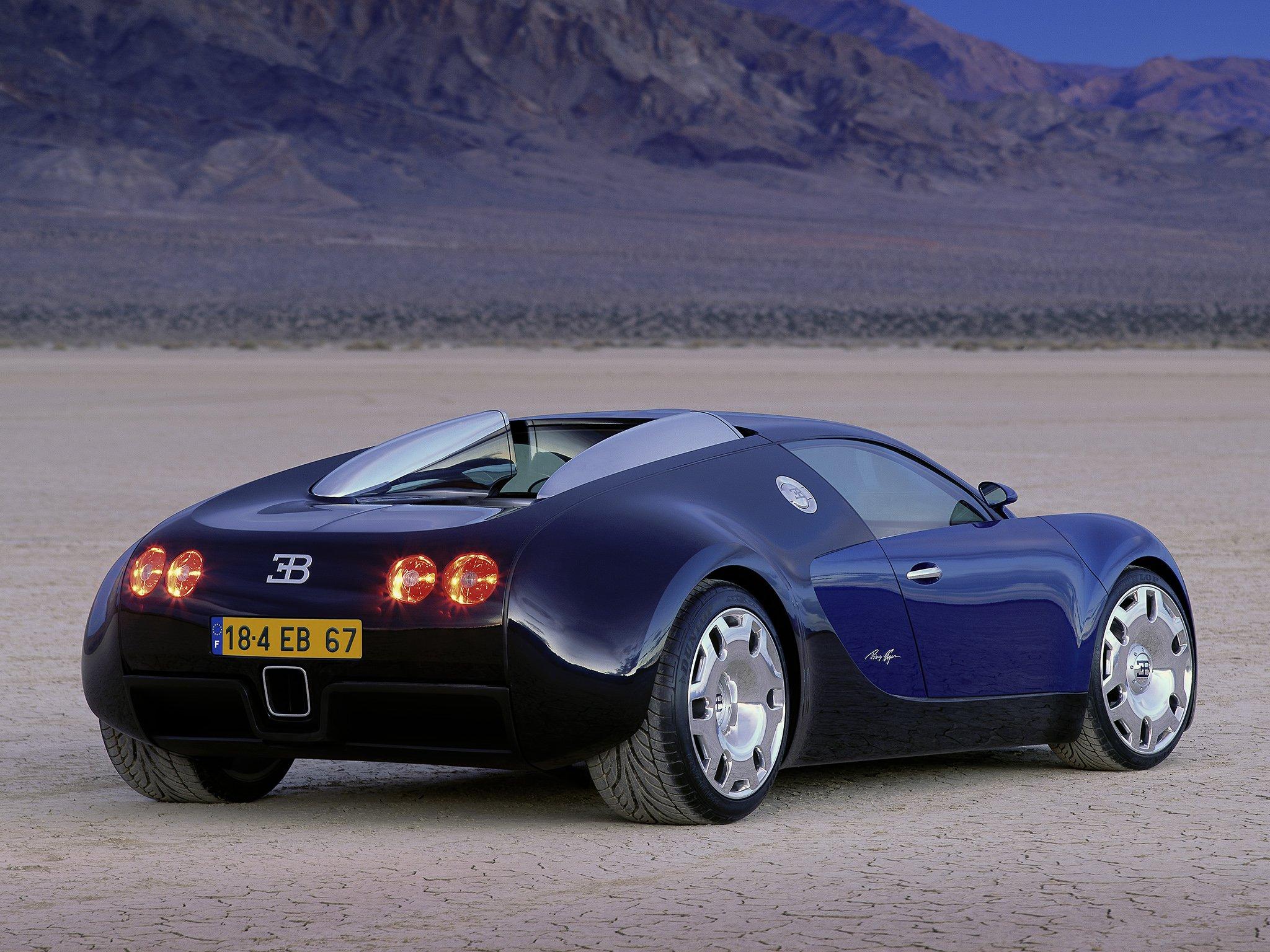 1999 bugatti e b 18 4 veyron concept supercar f wallpaper 2048x1536 24983. Black Bedroom Furniture Sets. Home Design Ideas