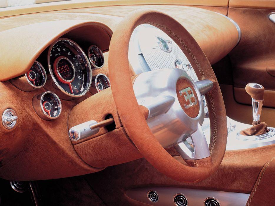 1999 Bugatti E-B 18-4 Veyron Concept supercar interior   n wallpaper
