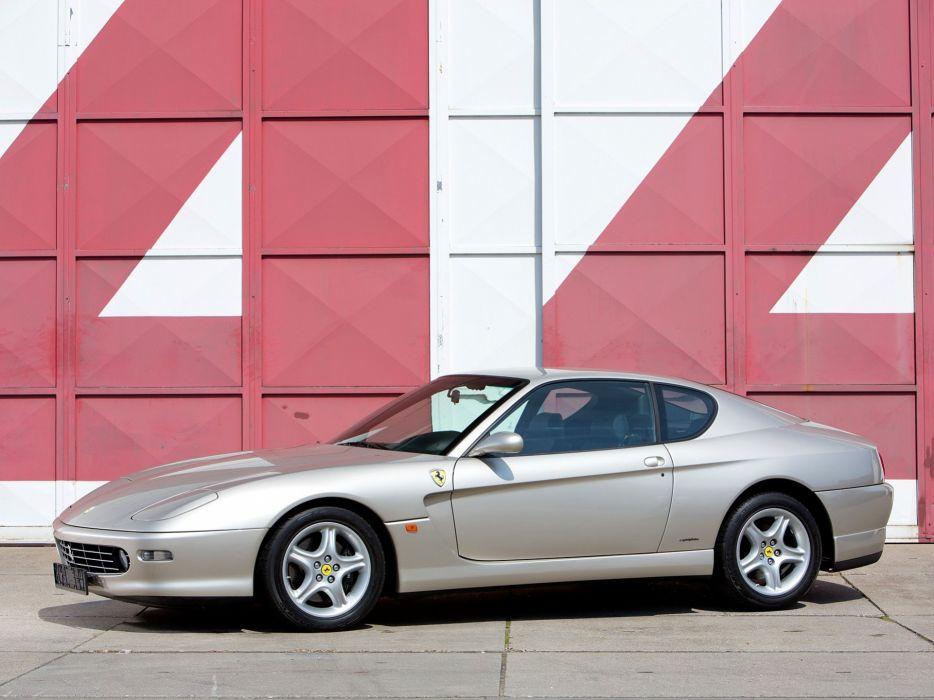 2001 Ferrari 456M G-T supercar  g wallpaper