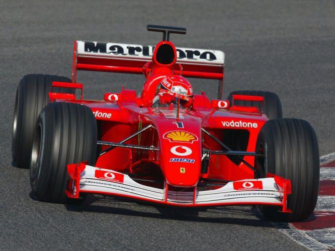 2001 Ferrari F2001 formula f-1 race racing f wallpaper
