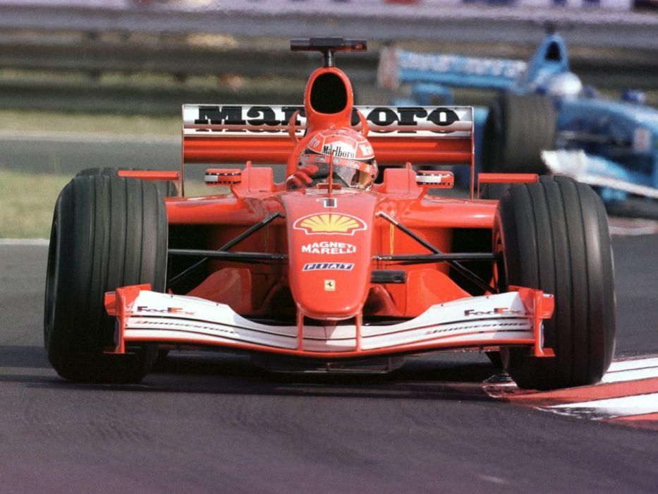 2001 Ferrari F2001 formula f-1 race racing  fd wallpaper