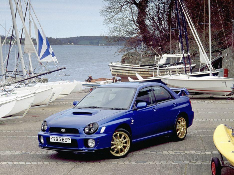 2001 Subaru Impreza WRX   h wallpaper