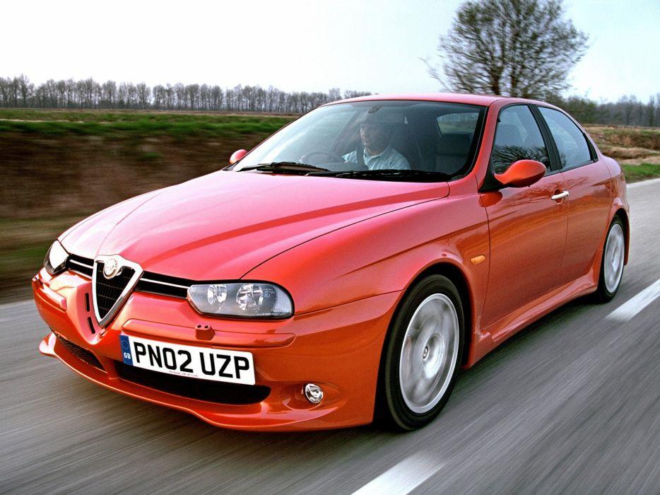 2002 Alfa Romeo 156 GTA h wallpaper