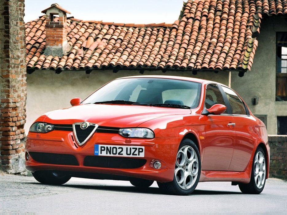 2002 Alfa Romeo 156 GTA   hd wallpaper
