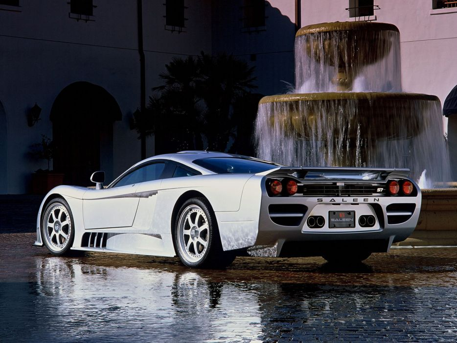 2002 Saleen S-7 Twin Turbo supercar   h wallpaper