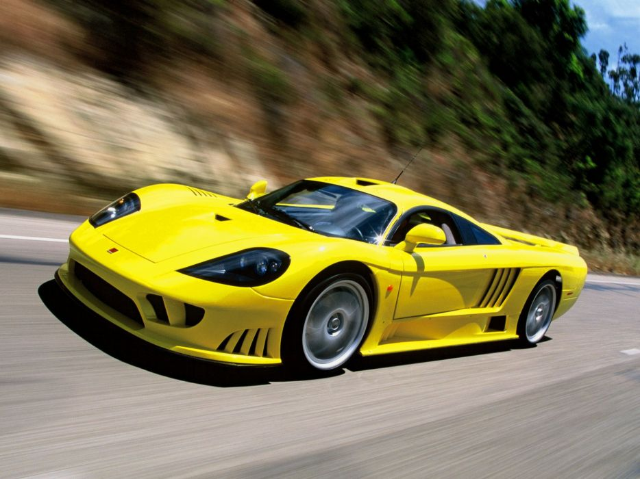 2002 Saleen S-7 Twin Turbo supercar   gr wallpaper