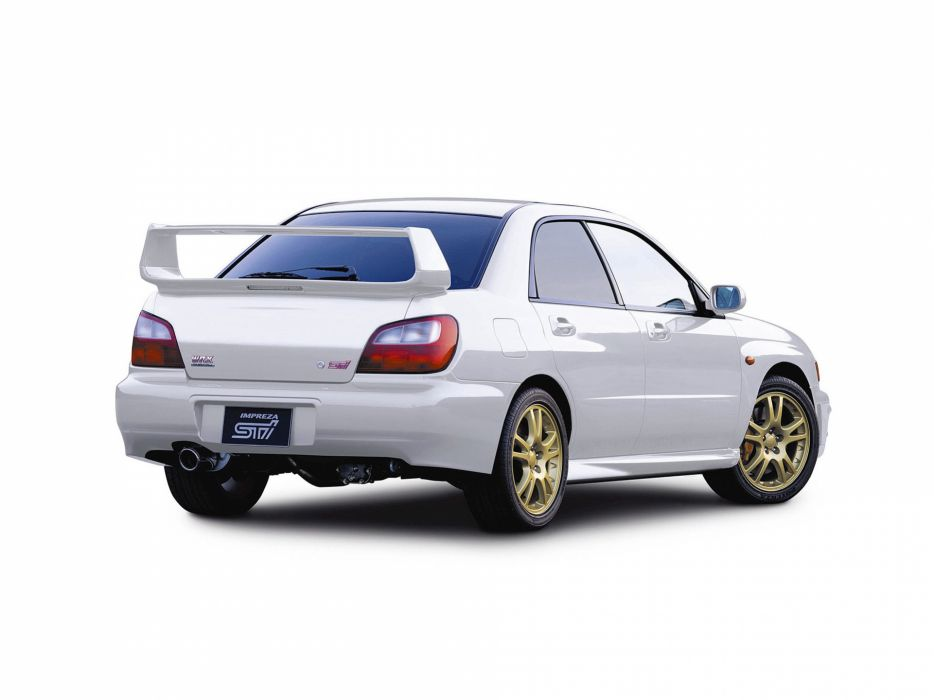 2002 Subaru Impreza WRX STI g wallpaper