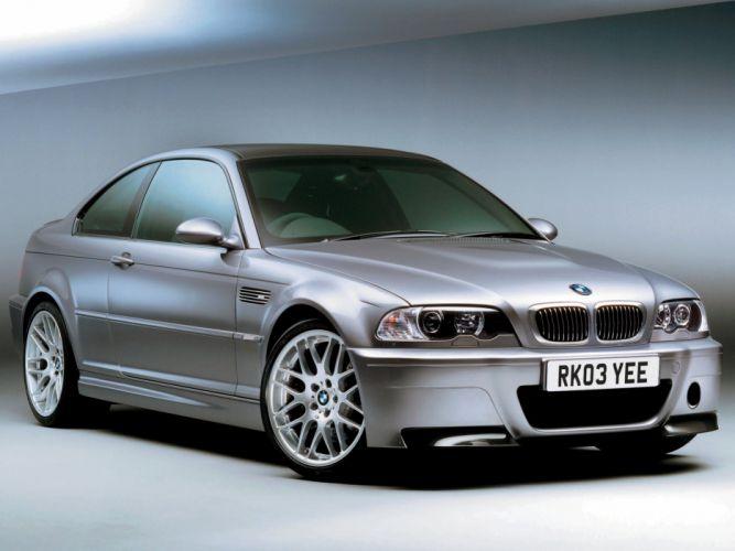 2003 BMW M-3 CSL Coupe UK-spec (E46) t wallpaper