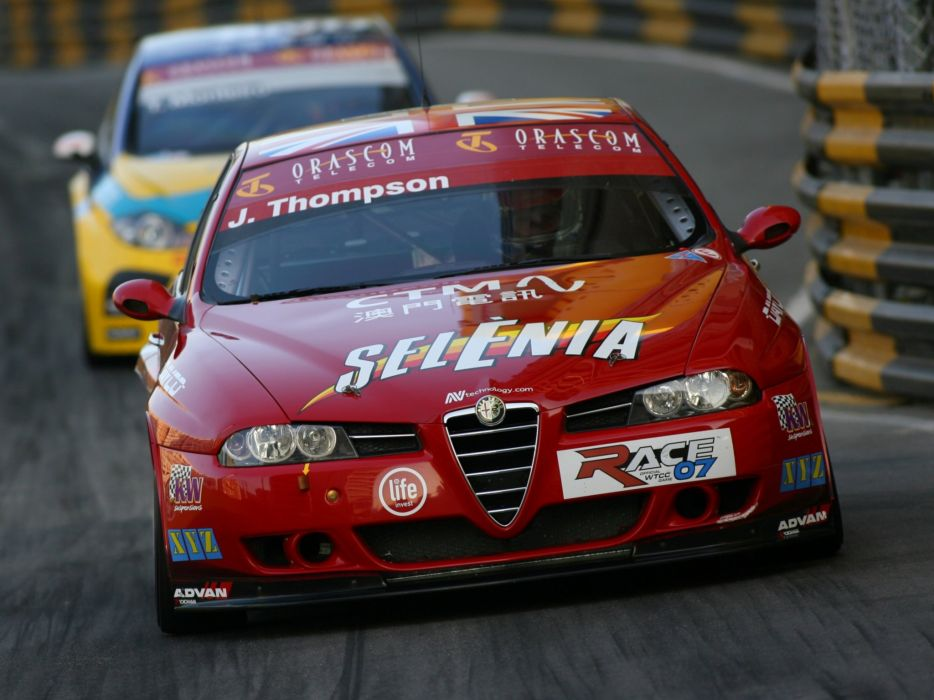 2004-07 Alfa Romeo 156 Super 2000 (SE107) WTCC race racing    h wallpaper