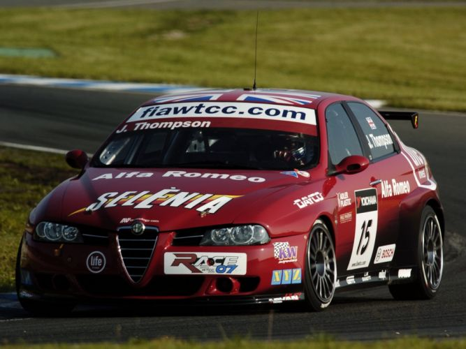 2004-07 Alfa Romeo 156 Super 2000 (SE107) WTCC race racing te wallpaper