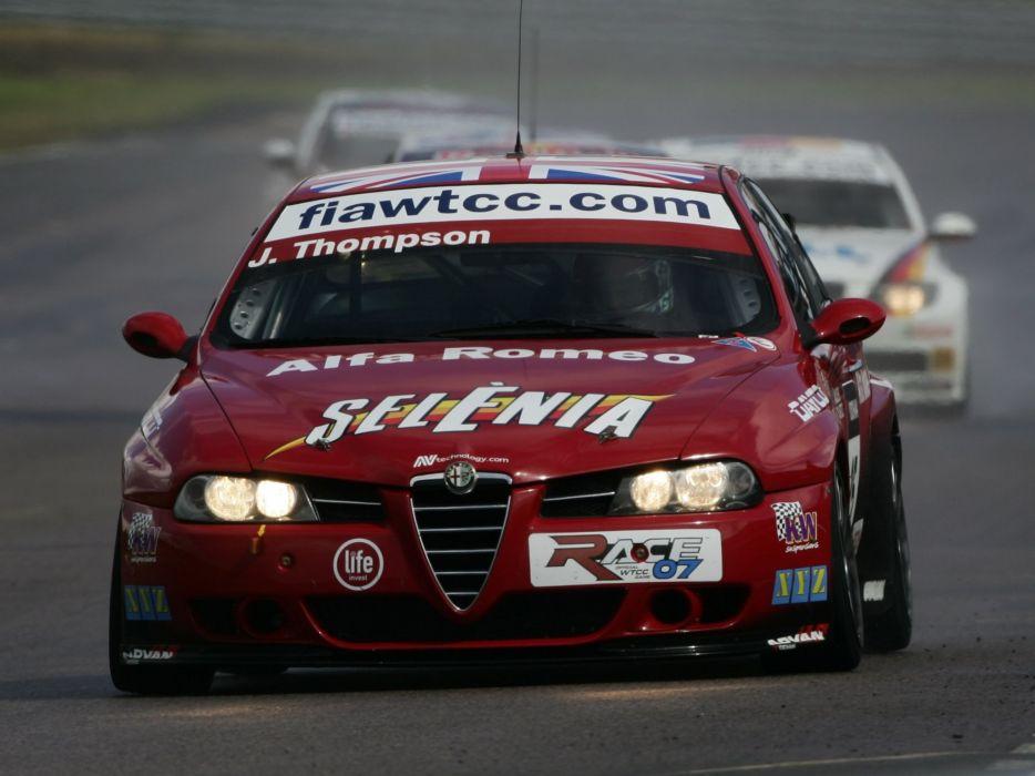2004-07 Alfa Romeo 156 Super 2000 (SE107) WTCC race racing   j wallpaper