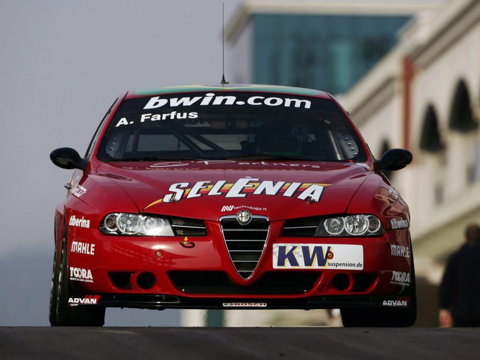 2004-07 Alfa Romeo 156 Super 2000 (SE107) WTCC race racing   gs wallpaper