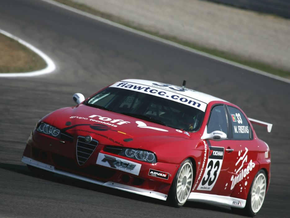 2004-07 Alfa Romeo 156 Super 2000 (SE107) WTCC race racing   jf wallpaper