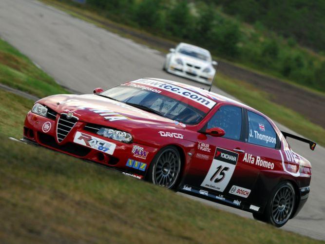 2004-07 Alfa Romeo 156 Super 2000 (SE107) WTCC race racing js wallpaper