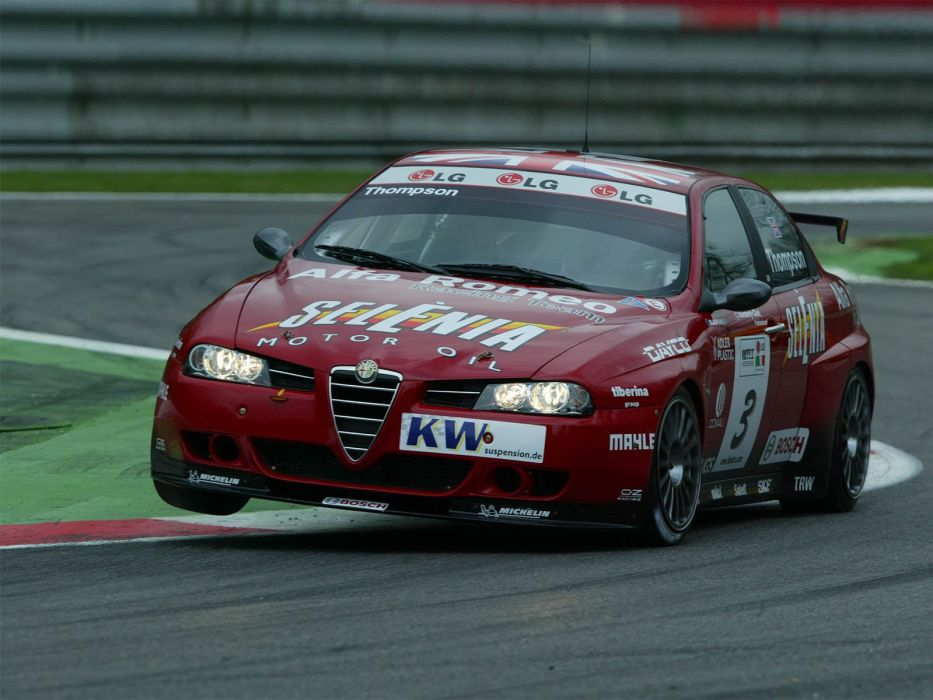 2004-07 Alfa Romeo 156 Super 2000 (SE107) WTCC race racing  hf wallpaper