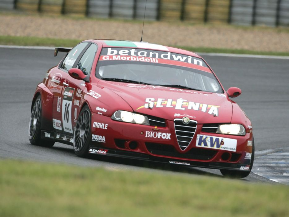2004-07 Alfa Romeo 156 Super 2000 (SE107) WTCC race racing  r wallpaper