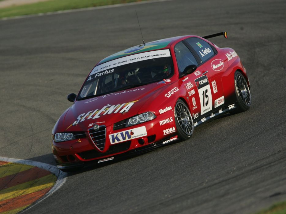 2004-07 Alfa Romeo 156 Super 2000 (SE107) WTCC race racing  u wallpaper
