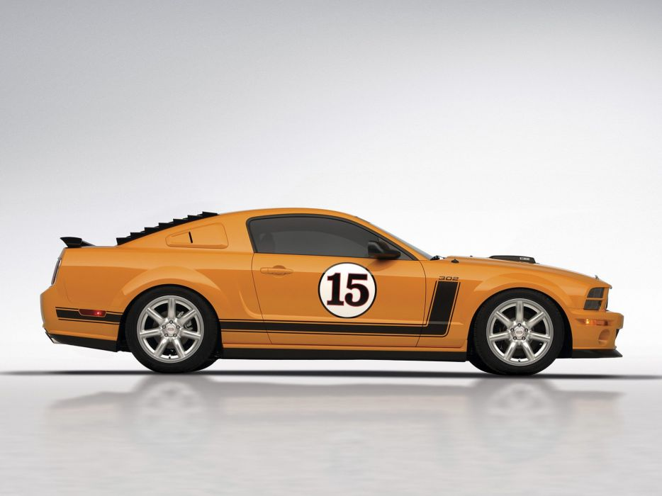 2006 Saleen S302 Parnelli Jones ford mustang muscle race racing  h wallpaper
